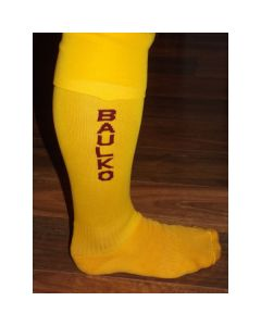 BHWHC Gold Sock