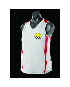 NSBhockey Additional Ladies/U15's Girls Alternative White Training Singlet