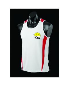 NSBhockey Additional U11/U13s Boys/Girls Alternative White Training Singlet