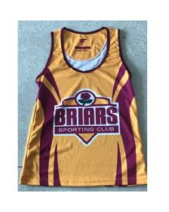 Briars Mens Playing Singlet