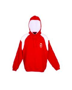 GNS Senior Hoodie Red/White