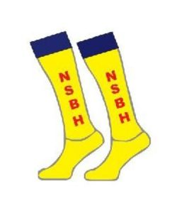 NSBhockey Alternative Yellow Playing Sock