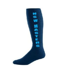 **COMPULSORY ITEM** NSW Masters Hockey Navy Playing Sock