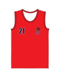 **COMPULSORY ITEM** O35's & O40's NSW Masters Hockey Red Alternative Playing Singlet