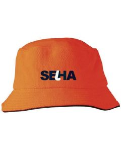 SEHA Orange Bucket Hat