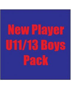 New Player U11/13 Boys Pack
