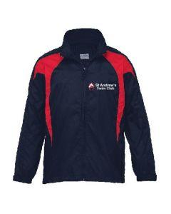 St Andrews Swim Club Spray Jacket