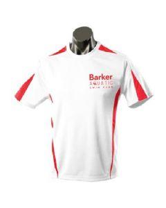 Barker Aquatic Swim Club Kids Leisure T Shirt White