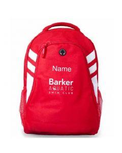 Barker Aquatic Swim Club Personalised BackPack