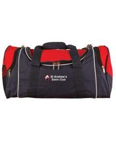 St Andrews Swim Club Personalised Kitbag