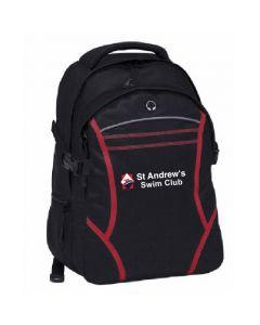 St Andrews Swim Club Personalised BackPack